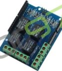 5V 4 Channel Relay Shield Module for Arduino