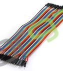 20cm 2.54mm 1pin Female to Male jumper wire Dupont cable