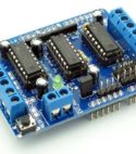 L293D 4 Channel Motor Driver Board Shield